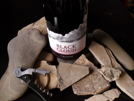 Vacation Stones and Pinot Noir